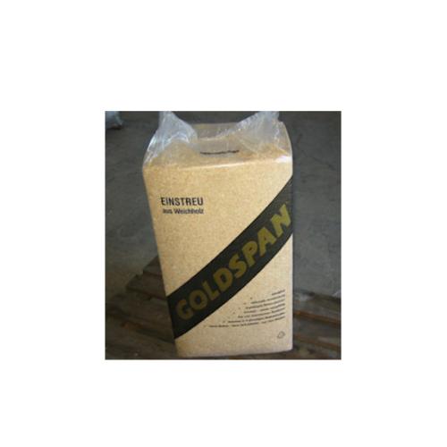 Grove Goldspan spåner 550 l / 24-25 kg, SPF-GODKENDT
